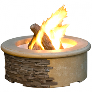 contractor gas fire pit